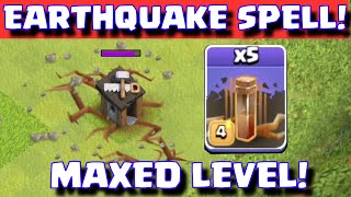 Clash Of Clans NEW EARTHQUAKE DARK SPELL | CoC Update Sneak Peek Summer 2015