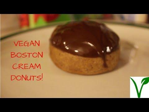 VEGAN BOSTON CREAM!!