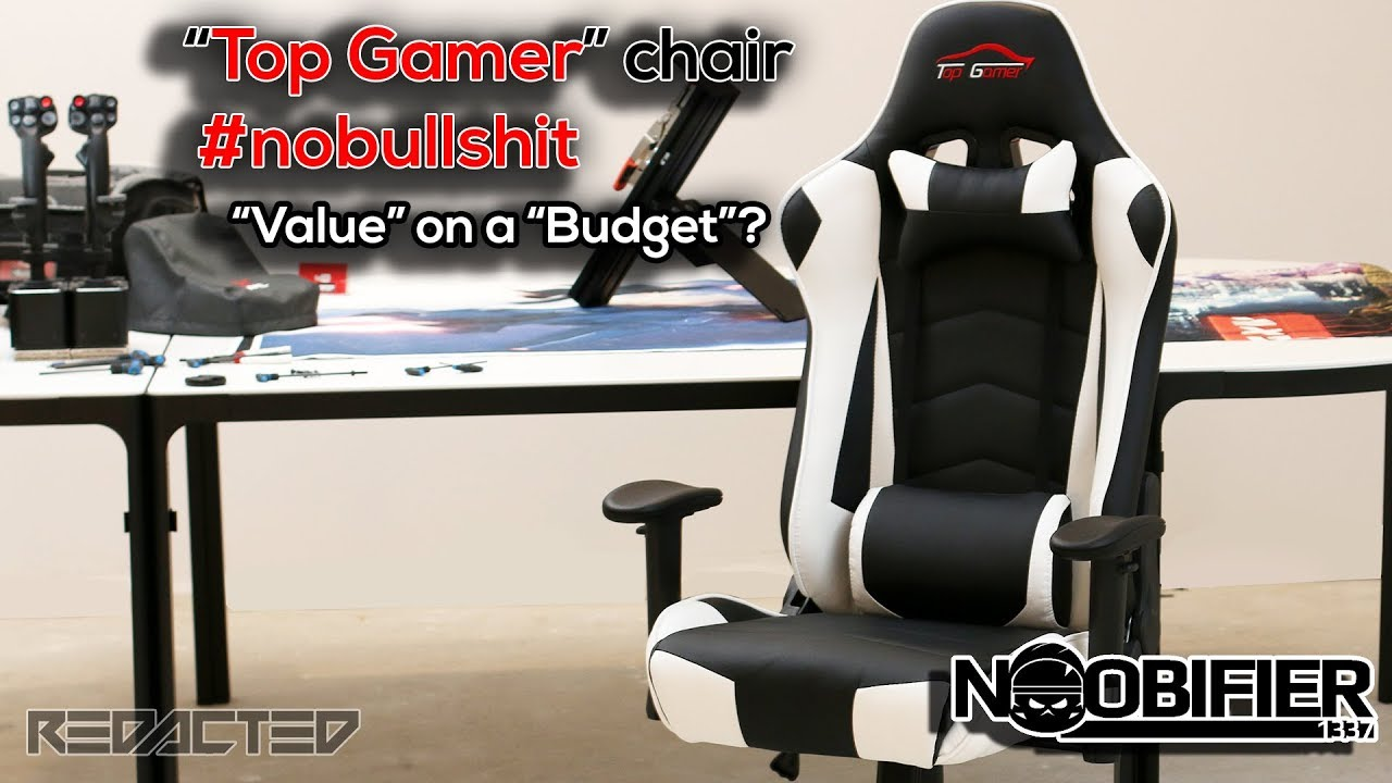 top gaming chair small side gamer nobullshit review of a budget youtube