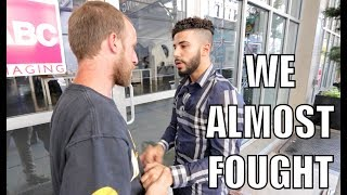 I CONFRONTED HIM FOR THREATENING ME!! *he brought his boys*