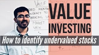 Value Investing - How to identify undervalued stocks [HINDI]