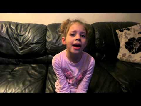 6 Year Old Singing Justin Bieber - Love Yourself