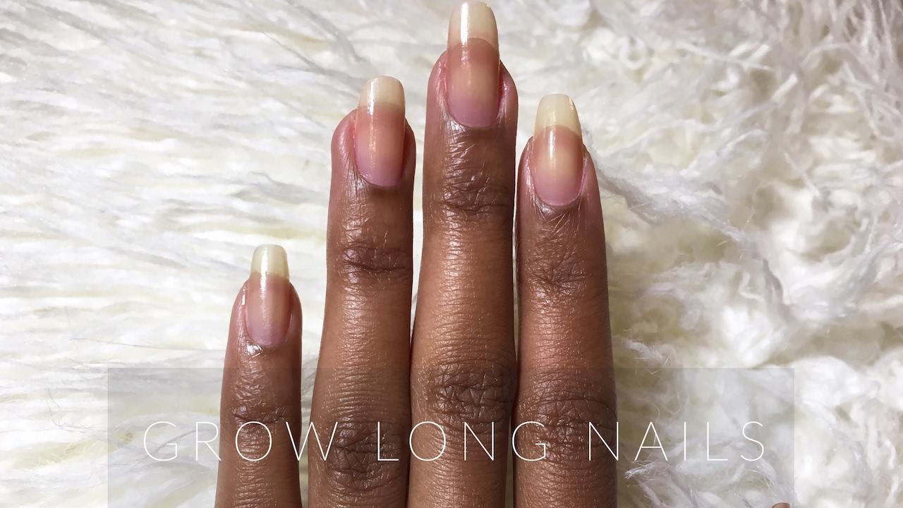 Grow LONG Nails | natural nail care - YouTube