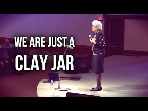 """We Are Just a Clay Jar"" – Sister Vesta Mangun"