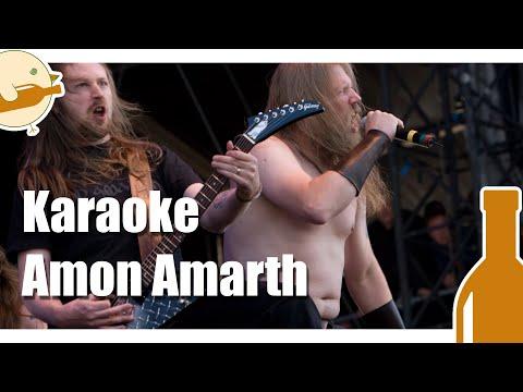 Amon Amarth - Pursuits of Vikings (Karaoke-Version)