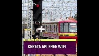 KERETA API FREE WIFI #videotext