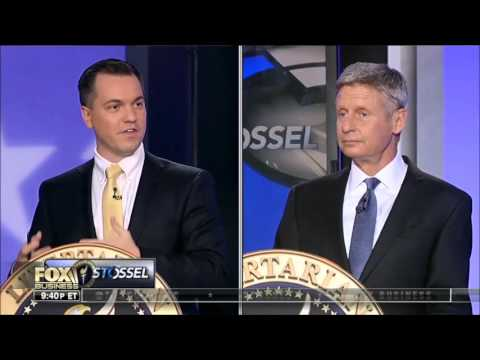 Austin Petersen Fox Business Libertarian Debate Highlights