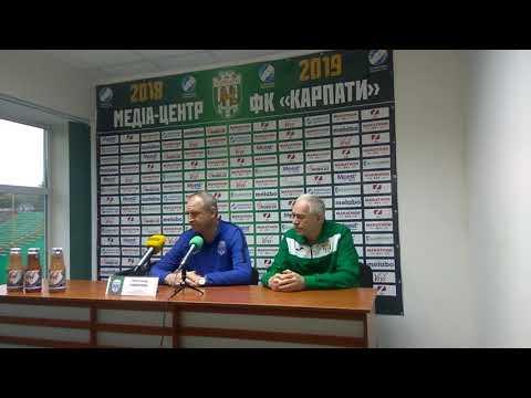 FCKarpatyComUa: Прес-конференція Олександра Рябоконя, після матчу