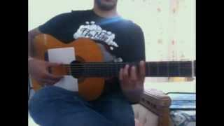 David DeeJay feat Dony --- Temptation - ( Guitar Tutorial )