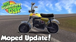 MOPED UPDATE   My Summer Car 23   My Summer Car Gameplay and Update