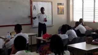 """Preysal Secondary School, Form 3:3, demonstrating the meaning of """"finding your purpose"""" in life..."""