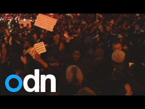 Eric Garner death: 30 arrests in NY protests over police 'choke hold' verdict