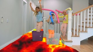 The Floor Is Lava I KLS Song For Kids Official Video