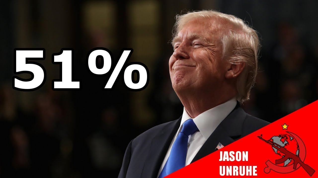 presidents approval rating rose - 1280×720
