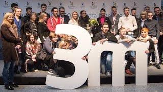 Flash mob - trzymilionowy pasażer Katowice Airport
