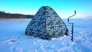 ЧТО ТАМ В ПАЛАТКЕ? Зимняя рыбалка 2018 - 2019