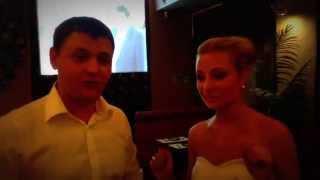 Видео отзыв 12 июня 2014 год , Ведущий и тамада на свадьбу в МОскве заказать Плахтий Владимир