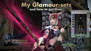 Ffxiv -  My  Fantastic Glamour-sets And Where To Find Them