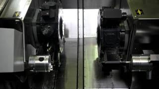 Çift Ayna Çift Taretli C Eksen Torna Tezgahı MT-65/750/2TM