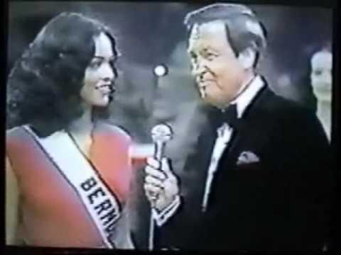 Miss Bermuda Gina Swainson 1979 @ Miss Universe