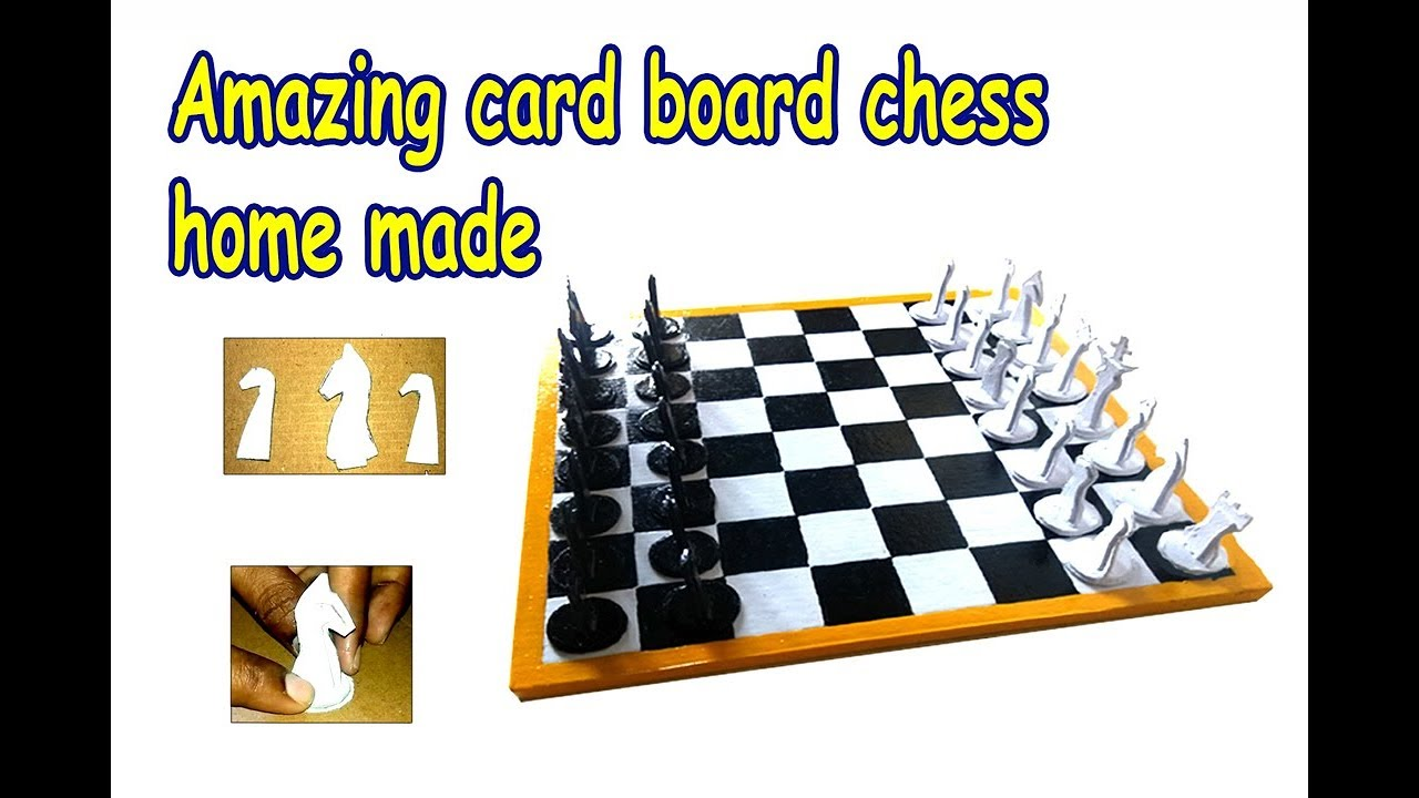 How To Make Cardboard Chess