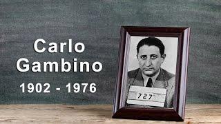 Carlo Gambino: The Gambino Crime Family Boss (1902 - 1976)