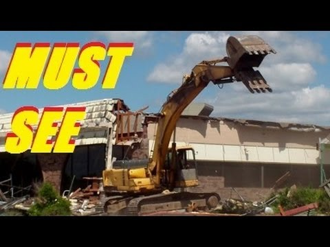 US ECONOMIC COLLAPSE PURE DESTRUCTION : HOW TO DEMOLISH A BUILDING , APARTMENT ,HOMES
