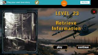 Expedition For Survival Level 23 RETRIEVE INFORMATION Walkthrough Game Guide HFG ENA