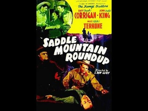 [Western] Saddle Mountain Roundup (1941)  Ray Corrigan, John 'Dusty' King, Max Terhune