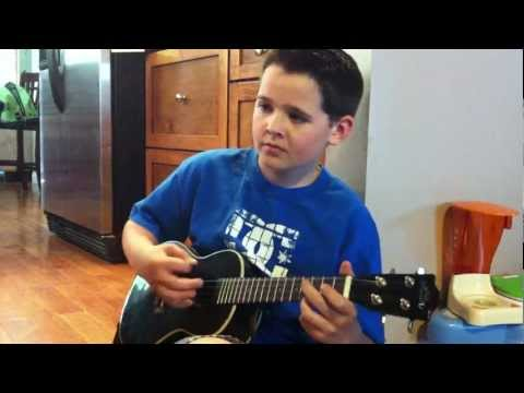 Green Day Ukulele Cover -  Good Riddance (Time of your Life)  by Matthew Cheverie 10 years old