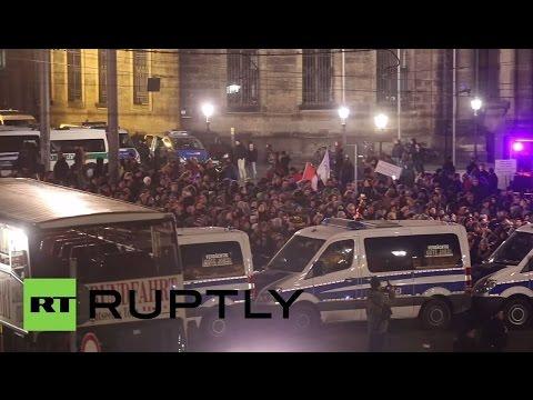 "LIVE: Pegida rally against ""dangers of Islamism"" after Paris terror - Cam 2"