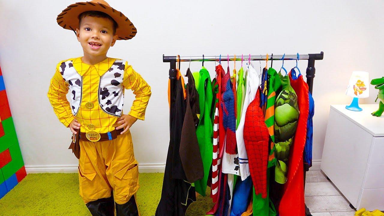 Егорка выбирает идеальный костюм для вечеринки