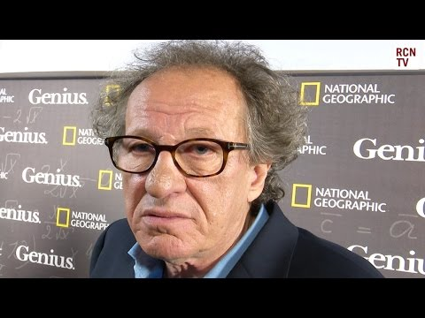 Geoffrey Rush Interview Playing Albert Einstein