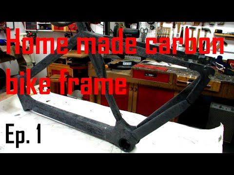 Home made carbon bike frame - Part I