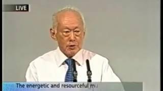 SMU Ho Rih Hwa Lecture: Mr Lee Kuan Yew | 5 Feb 2002