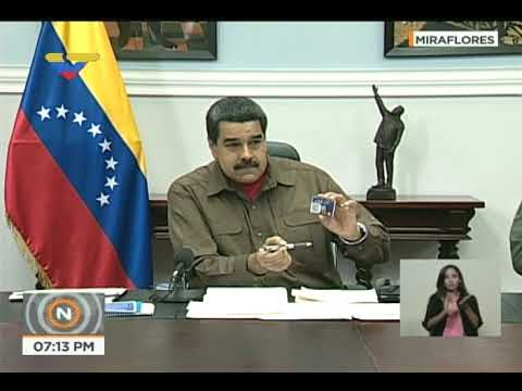 Presidente Nicolás Maduro en primer Consejo de Ministros de 2018 (Completo)