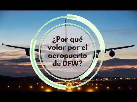¿Por qué volar por el aeropuerto de DFW?