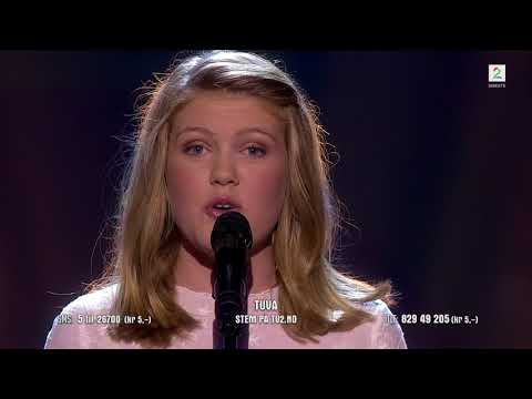 Tuva Lutro (13) - I Will Always Love You (Norske talenter 2018)