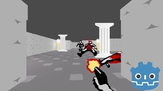How to make Wolfenstein 3D style levels in Godot