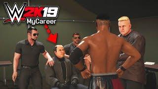 CRAZY FAN JUMPED THE BARRICADE!! | WWE 2K19 My Career Mode Ep #2