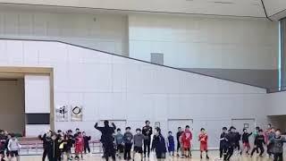 リズムトレーニング ジュニアハンドボールチーム