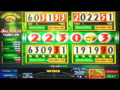 #G2E2016 Bluberi   NEW Lucky Pot Lotto slot machine