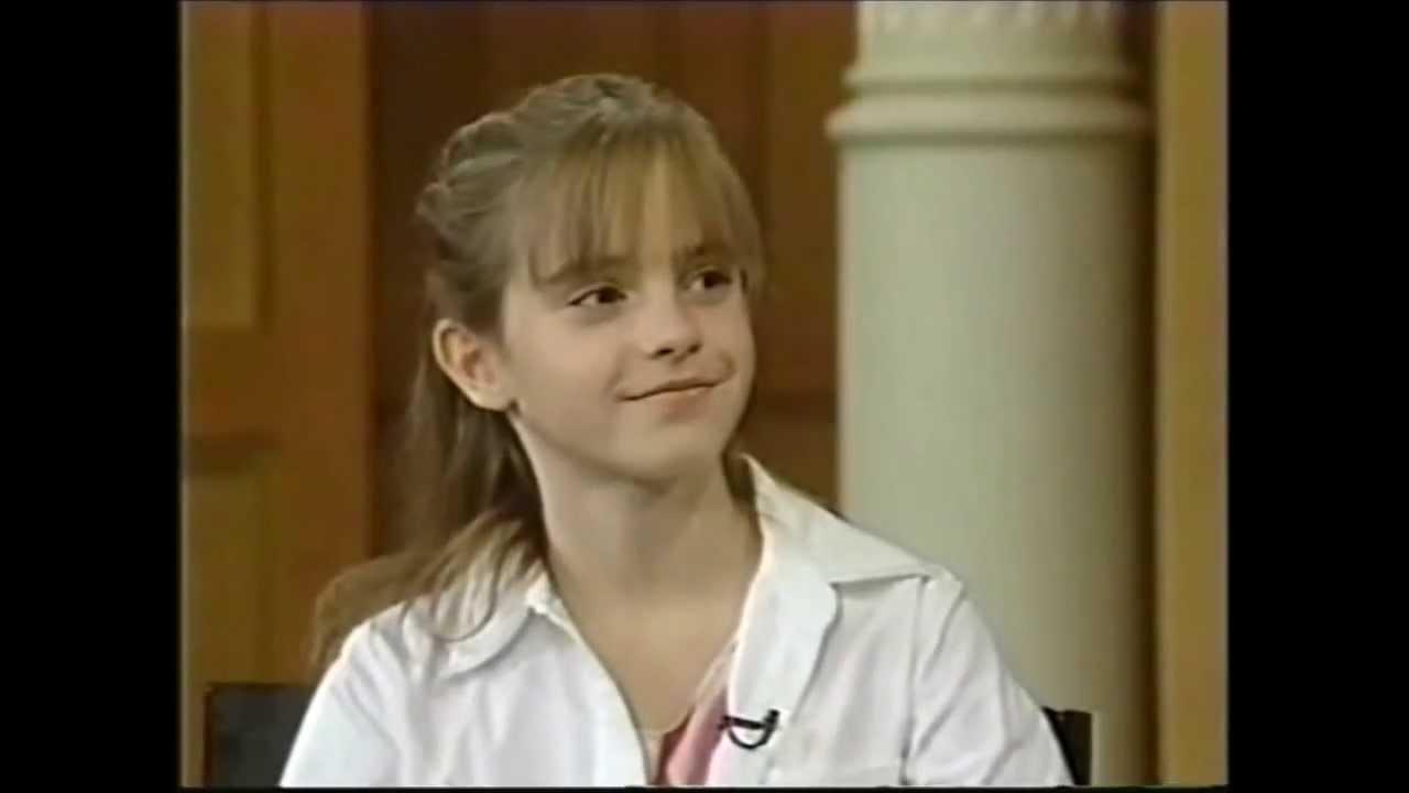 Emma Watson 11 Interview 2001 Youtube