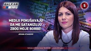 INTERVJU: Jovana Stojković - Mediji pokušavaju da me satanizuju zbog moje borbe! (6.10.2019)