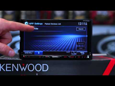 How to do Waze on Kenwood's DDX9902S  multimedia radio