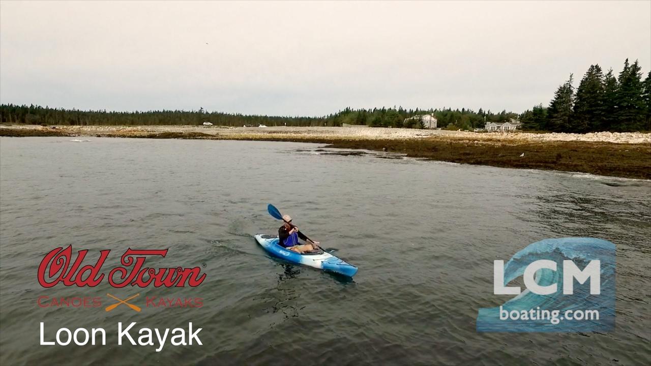 Old Town Loon 120 Recreational Kayak Reviewed | KayakGuru com