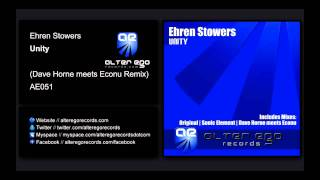 Ehren Stowers - Unity (Dave Horne meets Econu Remix) [Alter Ego Records]