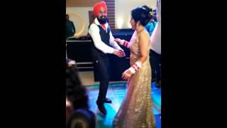 Indian Wedding couple dance - II