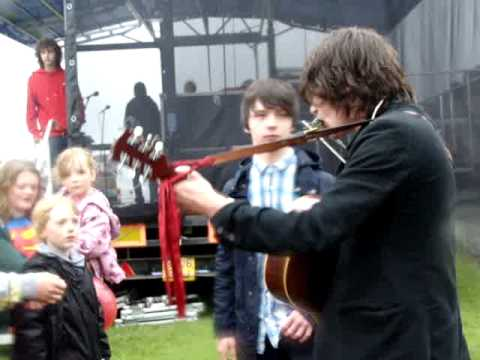 Kieren Webster backstage @ Neurofest 2011, 18/6/11. Same Jeans. Movie by Daisy Dundee