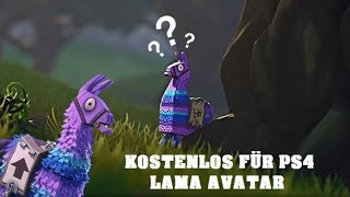 FREE GIFT for PS4 LAMA AVATAR | (Free) | Fortnite Battle Royale